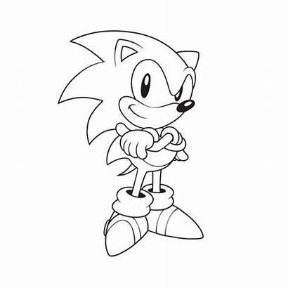 Coloring Sonic Sega Official