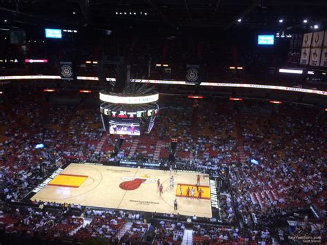 level center americanairlines arena basketball