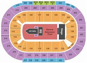 Mandalay Bay Events Center Seating Chart Concert Venues In Las Vegas Nv Concertfix Com