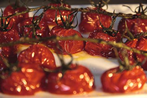 cuisine saine et rapide tomates cerises confites recette de tomates cerises
