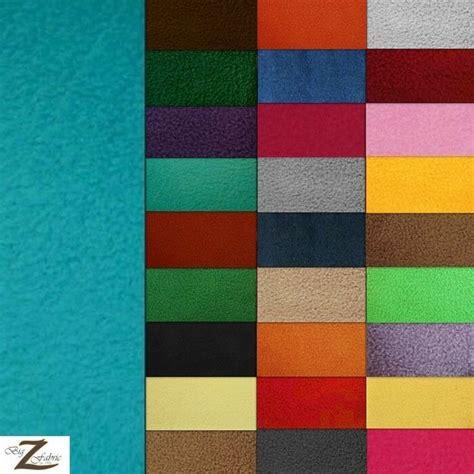solid polar fleece anti pill fabric  colors  width sold   yard ebay