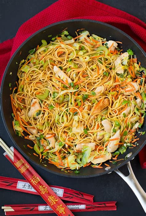 chicken chow mein healthy chinese food recipes