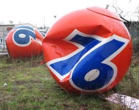 Union 76 Gas Station Balls