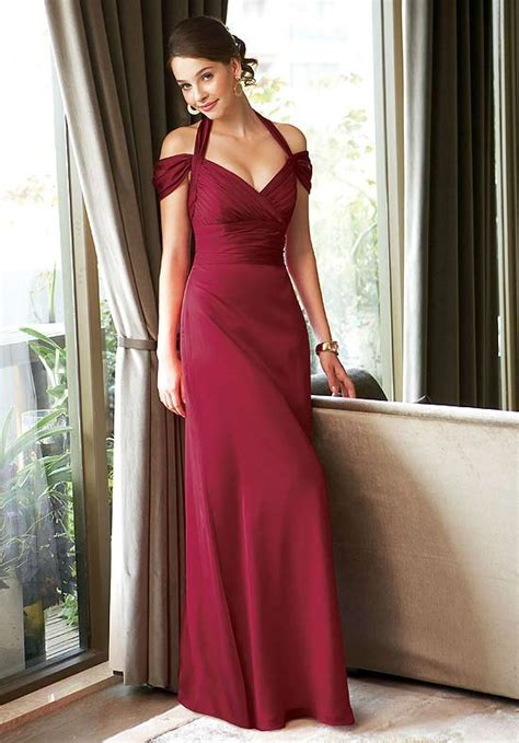 claret bridesmaid dresses 5 styles of unique bridesmaid dresses
