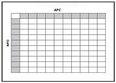 office pools  nfl super bowl  football square grid
