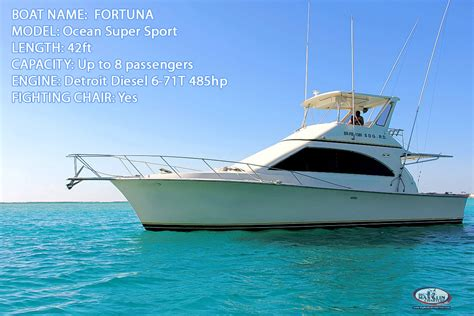 Charter Fishing Boat Reports by Deep Sea Fishing Charters Punta Cana Boat Excursion