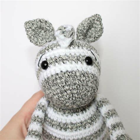 crochet zebra pattern thefriendlyredfoxcom