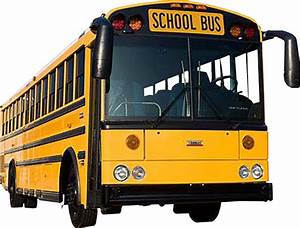 School bus transparent background image