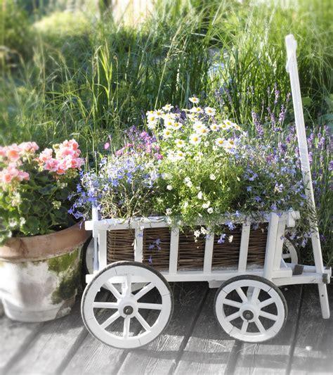 Vintage Garten Ideen by Vintage Garten Bollerwagen Mit Blumen Bepflanzen Goat