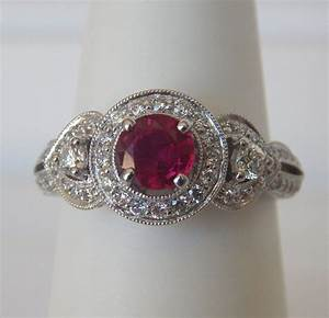 Antique Gold Ring Design Antique Ruby Ring Kloiber Jewelers