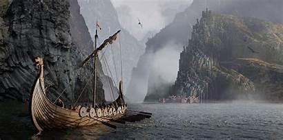 Viking Vikings Gods Fall Ship Fantasy Romance