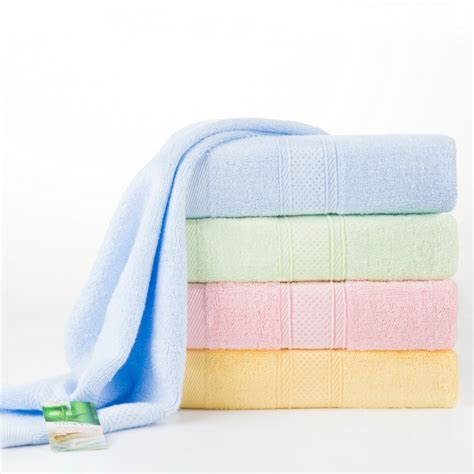 high quality cool bamboo towel on sale best solid color