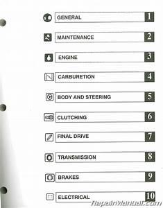 Used 2004 Polaris Scrambler 500 Atv Workshop Manual