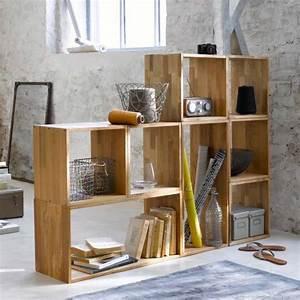Etagere Sur Mesure En Ligne : 24 id es de biblioth que modulable ~ Edinachiropracticcenter.com Idées de Décoration