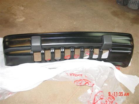 jeep grand cherokee black front bumper paintable