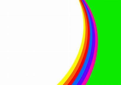 Background Clipart Rainbow Clip Cliparts Domain Powerpoint