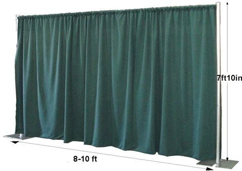 Backdrop Pipe And Drape - pipe and drape on wedding stage wedding stage