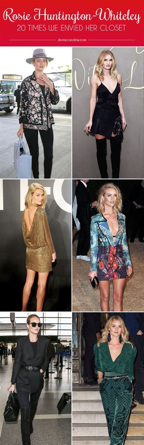 Rosie Huntington Whiteley Closet by 20 Times We Wished For Rosie Huntington Whiteley S Closet