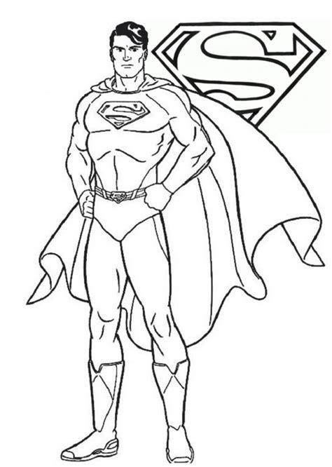 superman da colorare cose  crescere
