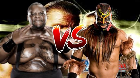 Wwe Smackdown Vs Raw 2009 Big Daddy V Vs Boogeyman Youtube