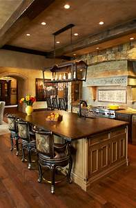 how to choose and set the best rustic kitchen lighting