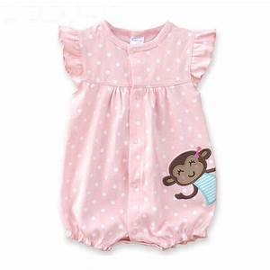 Baby Rompers Summer Baby Girls Clothing Cartoon Newborn ...