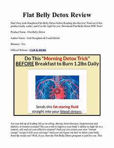 Josh Houghton U0026 39 S Flat Belly Detox Manual Pdf    Ebook Is It