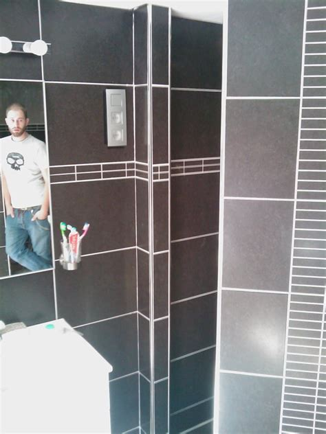 r 233 novation d une salle de bains carrelage mi hauteur