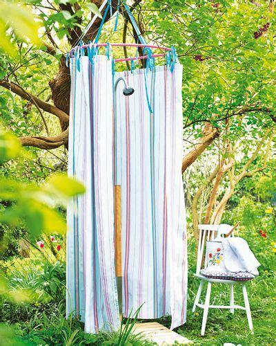 hula hoop selber bauen gartendeko selber machen garten gartendusche garten deko garten