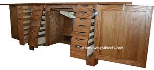 cabinet sewing furniture and sewing cabinets custom made