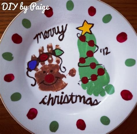handprint plates images  pinterest day