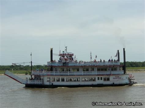 Mississippi River Boat Cruise St Louis by Gateway Arch Riverboat Cruises In St Louis City