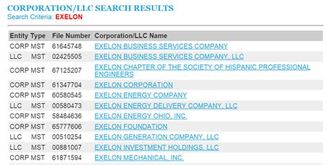 Illinois Business Entity And Corporation Search - IL ...