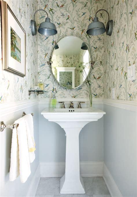 bathroom tile ideas for small bathrooms 5 pretty powder room designs chatelaine