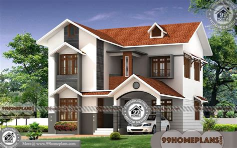 Three D Home Designs : Simple House Plans 4 Bedrooms With 3d Elevation