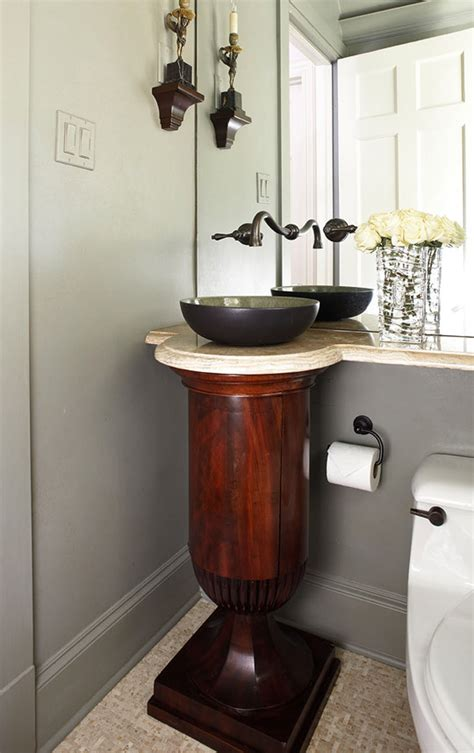create  smashing powder room traditional home
