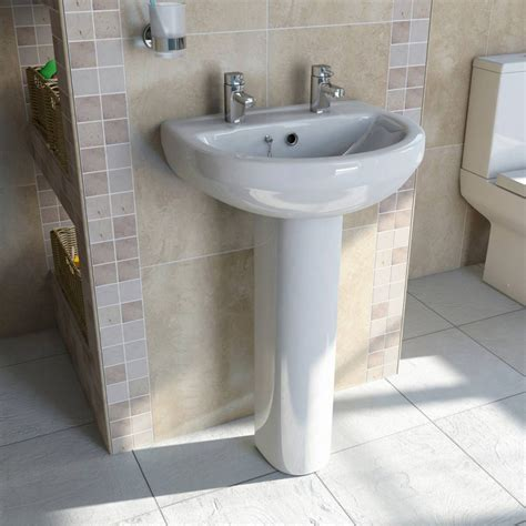 how to attach a pedestal sink to the wall how to install a bathroom sink victoriaplum com