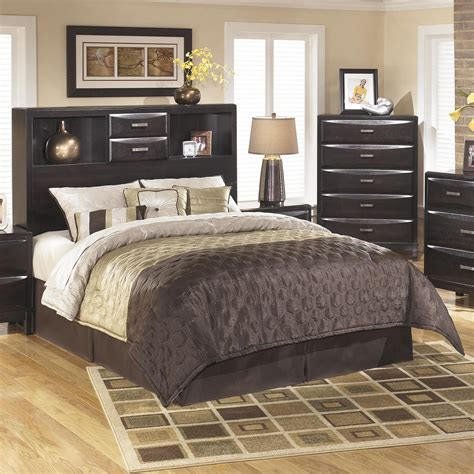 Ashley Furniture Kira Queen Storage Headboard Olinde's