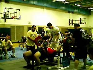 Buckley sets new Illinois State Bench Press Record - YouTube