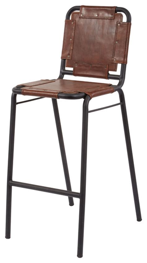 Dimond Home Industrial Bar Stool  Southwestern Bar