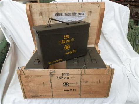 Cassette Militari by Kit Di 4 Cassette Militari Portamunizioni Con Scatola In
