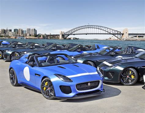 Limited Edition Jaguar F Type Project 7 Destined For Australia