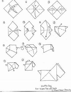 origami diagrams With dog easy origami dog origami dog diagram money origami dog origami dog
