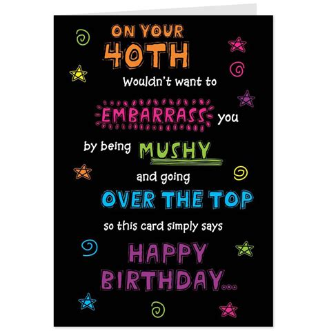 Turning the age of 40 is a large milestone for many people. Funny 40th Birthday Quotes. QuotesGram
