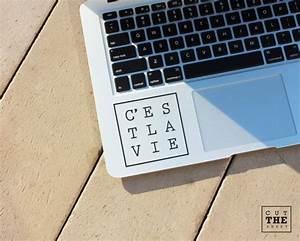 C U0026 39 Est La Vie Laptop Decal Laptop Sticker Car Decal