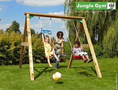 swing sets for children jungle playground equipment 270 | Jungle Gym Swing2