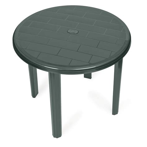 plastic patio table recycled plastic outdoor dining table inch pw