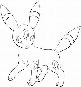 Pokemon Umbreon Coloring Pages - GetColoringPages.com