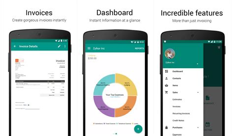 App Android by Free Invoice App For Android Dascoop Info