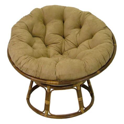 international caravan papasan chair  solid micro suede